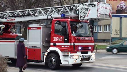 Strażakom, mimo sprawnej akcji, nie udało się uratować kobiety